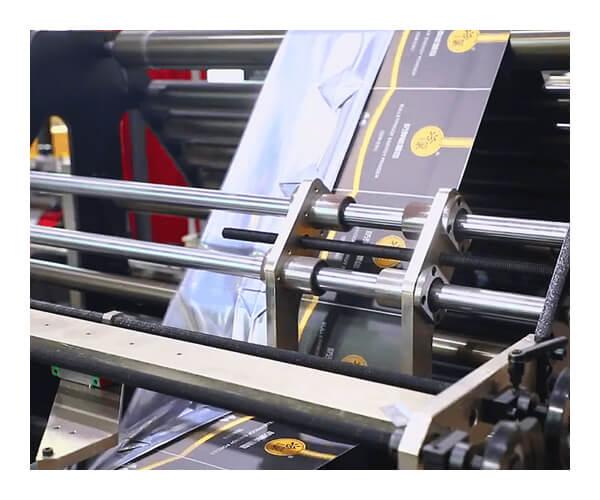 plastic films machine details display 2
