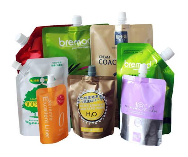 spout food bags display