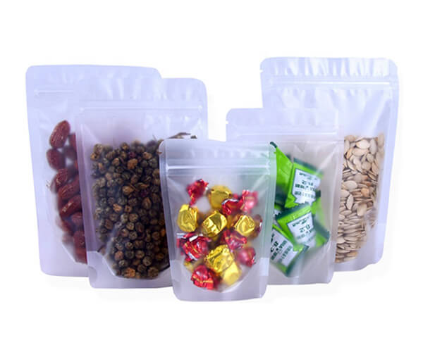 zipper food bags display
