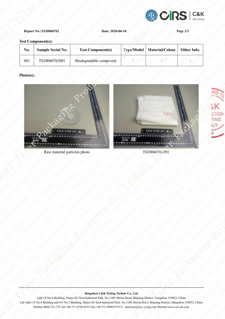 6802 USA Standard Food Safety Test Report_3