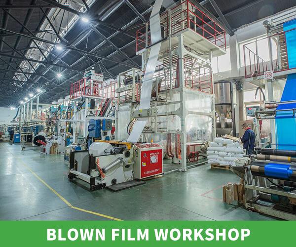 Blown film workshop banner 45