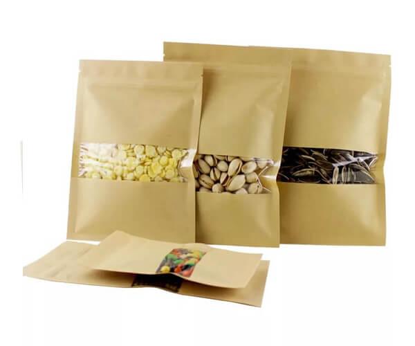 Four-side sealing paper bag 3