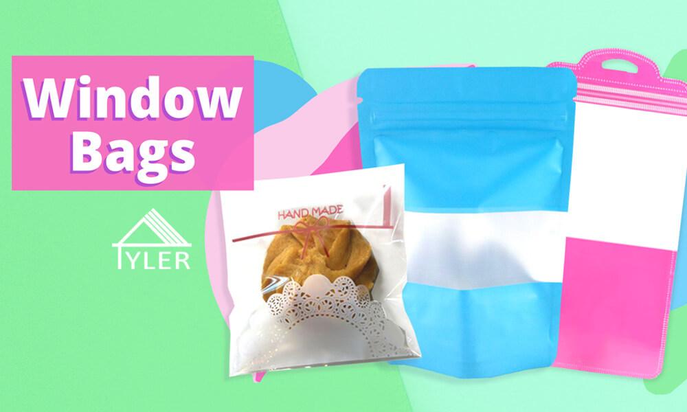 Transparent window packaging bags 1