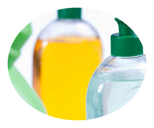 cleaning agent application 5